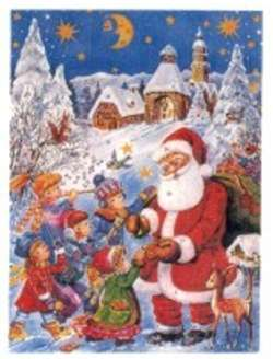 German Christmas Calendar Chocolate Christmas Decore