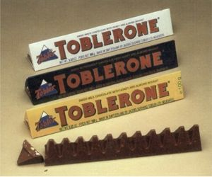 Tobelrone swiss chocolate confection bars