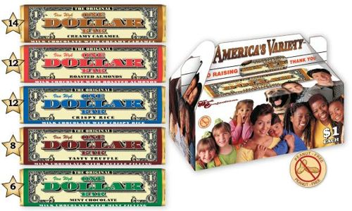 van wyck one dollar bar all american variety pack